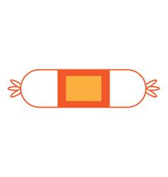 sausage icon image vector image