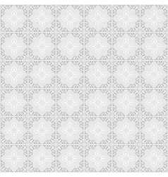 gray ornament on gray background - seamless vector image