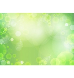 Green Background with light vector image