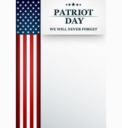 happy labor day holiday banner with background vector image
