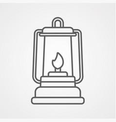 lantern icon sign symbol vector image