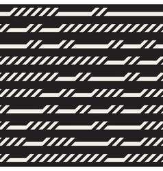 Seamless Rectangular Horizontal Lines vector