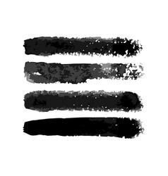 Watercolor torchon normal brushes set vector