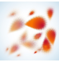 Abstract halftone design EPS 10 vector image