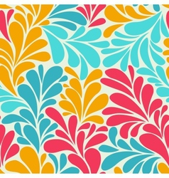 abstract romantic seamless wallpaper with curls vector image vector image