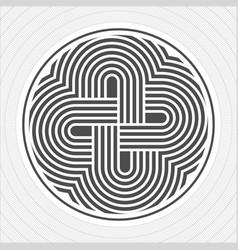 North america indians design graphic art tattoo vector