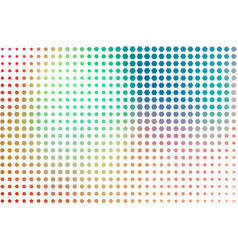 Abstract pixel style generative art background vector