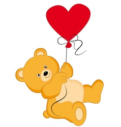 bear balloon vector image