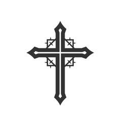 Cross lord jesus christ vector