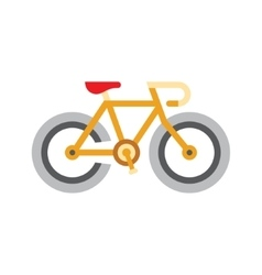 Holandaise Bicycle Simplified Icon vector