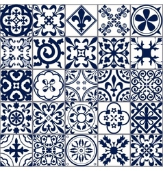 Moroccan tiles Seamless Pattern A vector image