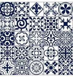 Moroccan tiles Seamless Pattern A vector