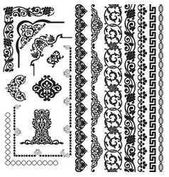 patterns set5 vector image