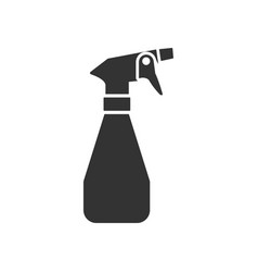sprayer icon design template isolated vector image