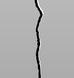Earth Crack 6 vector image vector image