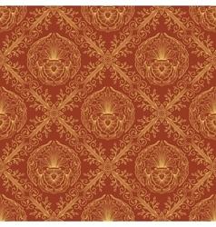 Seamless oriental wallpaper3 vector image vector image