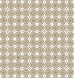 pattern with circle vector image