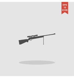 Sniper Rifle icon concept for vector image vector image
