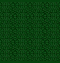 Abstract seamless background pattern 3d green vector