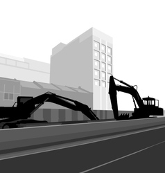 City construction vector