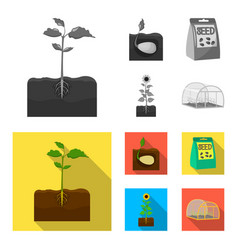 Company ecology and other web icon in monochrome vector