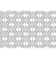 Hand-drawn black and white seamless pattern vector