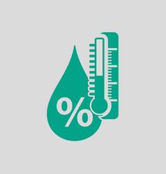 Humidity icon vector