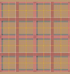 scottish tartan checkered seamless pattern vector image