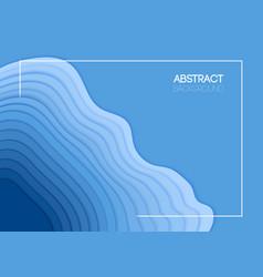 summer background overlap blue waves vector image