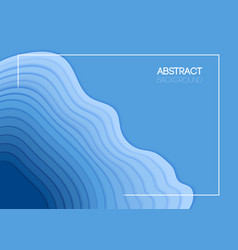 the summer background overlap blue waves vector image