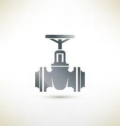 Valve symbol vector image