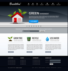 web design website element template a web design vector image