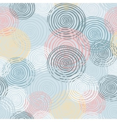 Colorfull seamless helix pattern winter colection vector