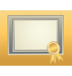 border frame template vector image vector image