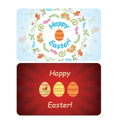 backgrounds - happy easter vector image vector image