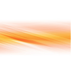 abstract shapes on orange background vector image