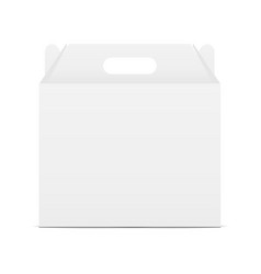 box with handle vector image