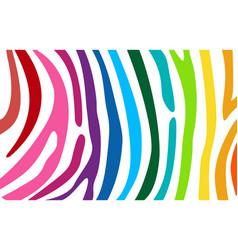 bright colourful horizontal abstract wallpaper vector image