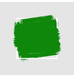 Grunge hand painted brush stroke square vector
