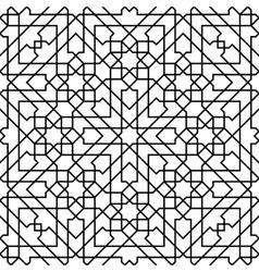 Moroccan mosaic seamless vector