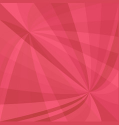 Red abstract dynamic background - design vector