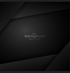 black layer background with black space for text vector image