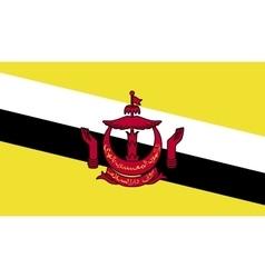Brunei flag image vector image
