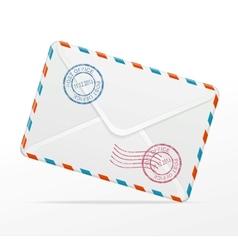 detailed envelope vector image vector image
