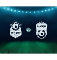 Soccer Match vector image