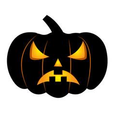 abstract halloween pumpkin vector image