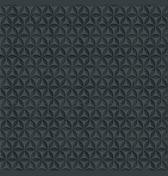 abstract seamless background pattern 3d gray vector image