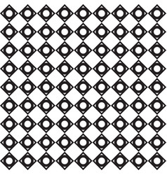 Black and white triangle pattern background vector