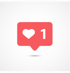 counter notification icon vector image