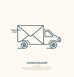 Courier delivery vector